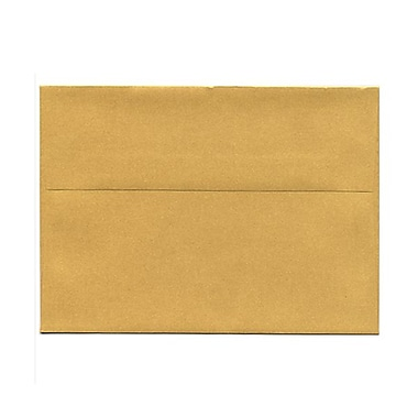 JAM Paper® A7 Invitation Envelopes, 5.25 x 7.25, Stardream Metallic Gold, 1000/Pack (GCST708B)