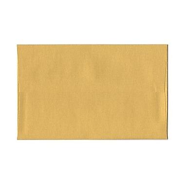 JAM Paper® A10 Invitation Envelopes, 6 x 9.5, Stardream Metallic Gold, 1000/Pack (V018299B)