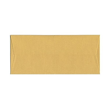 JAM Paper® #10 Business Envelopes, 4 1/8 x 9.5, Stardream Metallic Gold, 50/Pack (SD5360 07g)