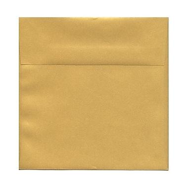 JAM Paper® 8.5 x 8.5 Square Envelopes, Stardream Metallic Gold, 1000/Pack (V018319B)