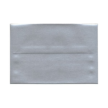JAM Paper® A8 Invitation Envelopes, 5.5 x 8.125, Stardream Metallic Silver, 50/Pack (v018294g)