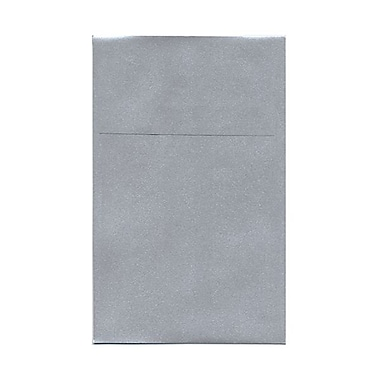 JAM Paper® A10 Policy Envelopes, 6 x 9.5, Stardream Metallic Silver, 50/Pack (v018303g)