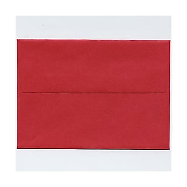 JAM Paper® 4bar A1 Envelopes, 3.63 x 5 1/8, Stardream Metallic Jupiter Red, 50/Pack (v018247g)