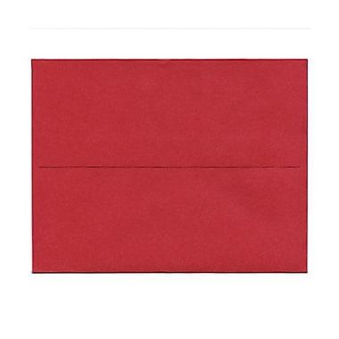 JAM Paper® A2 Invitation Envelopes, 4.38 x 5.75, Stardream Metallic Jupiter Red, 1000/Pack (SD5370 20B)