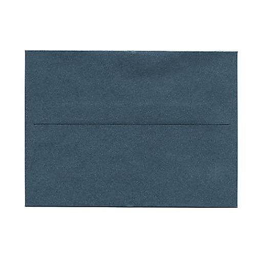 JAM Paper® A6 Metallic Invitation Envelopes, 4.75 x 6.5, Stardream Malachite Deep Green, 25/Pack (GCST653)