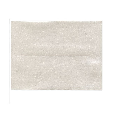 JAM Paper® A2 Invitation Envelopes, 4 3/8 x 5 3/4, Stardream Metallic Quartz, 25/pack (GCST607)
