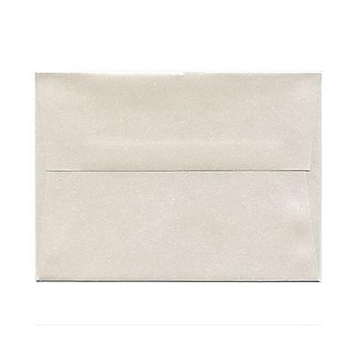 JAM Paper® A6 Invitation Envelopes, 4.75 x 6.5, Stardream Metallic Quartz, 25/pack (GCST657)