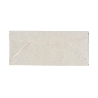 JAM Paper® #10 Policy Envelopes, 4 1/8 x 9 1/2, Stardream Metallic Quartz, 25/pack (185046)