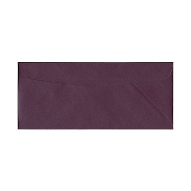 JAM Paper #10 Business Envelopes, 4 1/8 x 9.5, Stardream Metallic Ruby Purple, 50/Pack (v018288g)