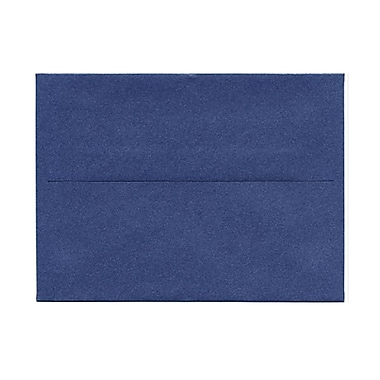 JAM Paper® A6 Invitation Envelopes, 4.75 x 6.5, Stardream Metallic Sapphire Blue, 1000/Pack (GCST655B)