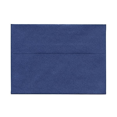 JAM Paper® A7 Invitation Envelopes, 5.25 x 7.25, Stardream Metallic Sapphire Blue, 50/Pack (SD5380 16g)