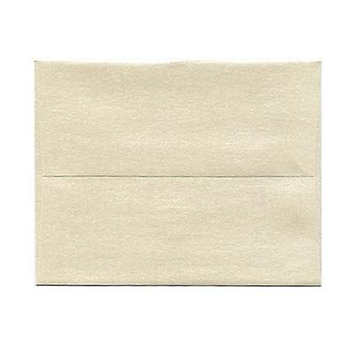 JAM Paper® A2 Invitation Envelopes, 4 3/8 x 5 3/4, Stardream Metallic Opal, 25/pack (GCST600)