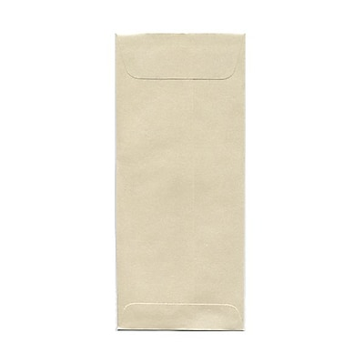 JAM Paper® #10 Policy Envelopes, 4 1/8 x 9 1/2, Stardream Metallic Opal, 25/pack (V018293)