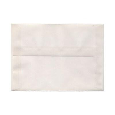 JAM Paper® A7 Invitation Envelopes, 5.25 x 7.25, Clear Translucent Vellum, 25/pack (2851295)
