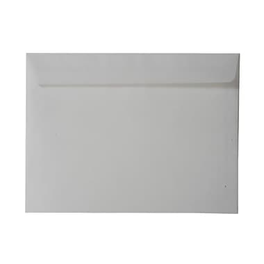JAM Paper® 7.5 x 10.5 Booklet Envelopes, Clear Translucent Vellum, 100/Pack (971830g)