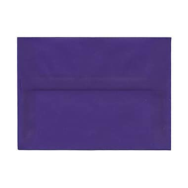 JAM Paper® Square Strathmore Wove Envelopes with Gum Closures 5 1/4