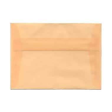 JAM PaperMD – Enveloppes livret en vélin translucide avec fermeture gommée, 5 1/4 x 7 1/4 po, ivoire, 1000/pqt