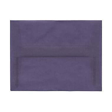 JAM Paper® A2 Invitation Envelopes, 4.38 x 5.75, Wisteria Purple Translucent Vellum, 100/Pack (PACV604g)