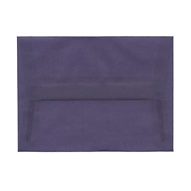 JAM Paper® A6 Invitation Envelopes, 4.75 x 6.5, Wisteria Purple Translucent Vellum, 1000/Pack (PACV654B)