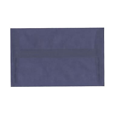JAM Paper A10 Invitation Envelopes, 6 x 9.5, Translucent Vellum Wisteria Purple, 100/Pack (PACV854g)