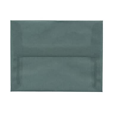JAM Paper® A2 Invitation Envelopes, 4.38 x 5.75, Ocean Blue Translucent Vellum, 100/Pack (PACV602g)