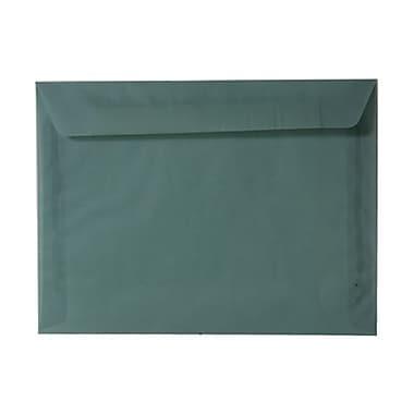 JAM PaperMD – Enveloppes format livret en papier vélin translucide, 9 x 12 po, bleu océan, 25 par paquet
