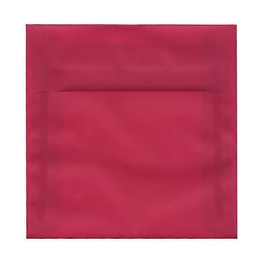 JAM Paper® Square Translucent Vellum Envelopes with Gum Closures 8