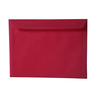 JAM Paper® 9 x 12 Booklet Envelopes, Translucent Vellum Magenta Pink, 25/pack (1592172)