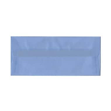 JAM PaperMD – Enveloppes à brochure à fermeture gommée, papier vélin translucide, 4-1/8 x 9-1/2 po, mers du Sud/bleu layette