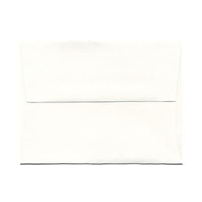 JAM Paper® A2 Invitation Envelopes, 4 3/8 x 5 3/4, Strathmore Bright White Laid, 25/pack (99118)
