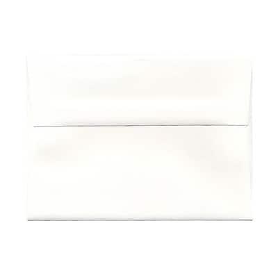JAM Paper® A7 Invitation Envelopes, 5.25 x 7.25 Strathmore Bright White Laid, 1000/carton (3TTL711B)