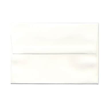 JAM Paper® A8 Invitation Envelopes, 5.5 x 8.125, Strathmore Natural White Laid, 100/Pack (75134g)