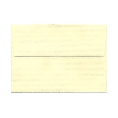 JAM Paper® 4bar A1 Envelopes, 3.63 x 5 1/8, Ivory Laid, 1000/Pack (900734088B)