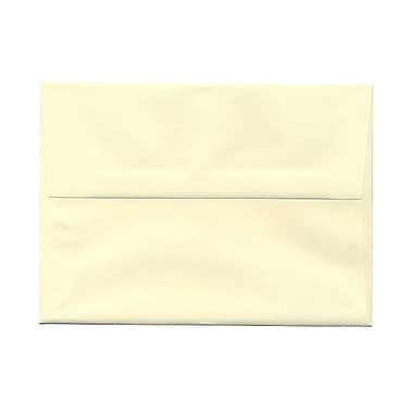 JAM Paper® A7 Invitation Envelopes, 5.25 x 7.25 Strathmore Ivory Laid, 100/Pack (191203g)