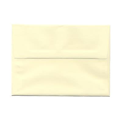 JAM Paper® A7 Invitation Envelopes, 5.25 x 7.25 Strathmore Ivory Laid, 1000/carton (191203B)