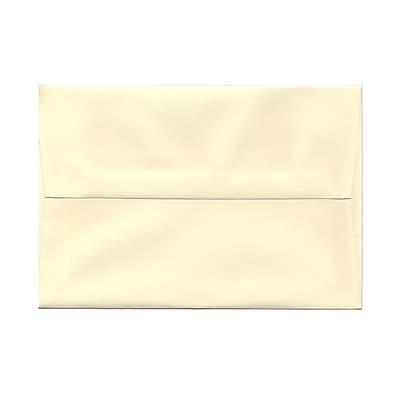 JAM Paper® A8 Invitation Envelopes, 5.5 x 8.125, Strathmore Ivory Laid, 25/pack (90810172)