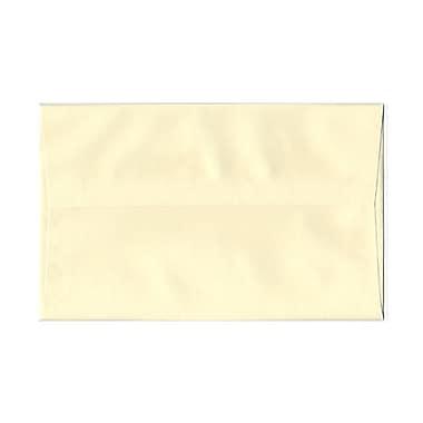 JAM Paper® A10 Invitation Envelopes, 6 x 9.5, Strathmore Ivory Laid, 1000/Pack (191229B)