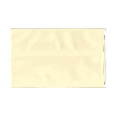 JAM Paper® A10 Invitation Envelopes, 6 x 9.5, Strathmore Ivory Laid, 25/pack (191229)