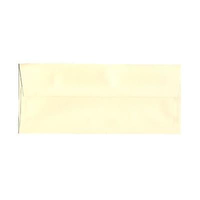 JAM Paper® #10 Business Envelopes, 4 1/8 x 9 1/2, Strathmore Ivory Laid, 25/pack (17877)