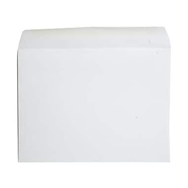 JAM Paper® 9 x 12 Booklet Envelopes, Strathmore Bright White Wove, 100/Pack (46974g)