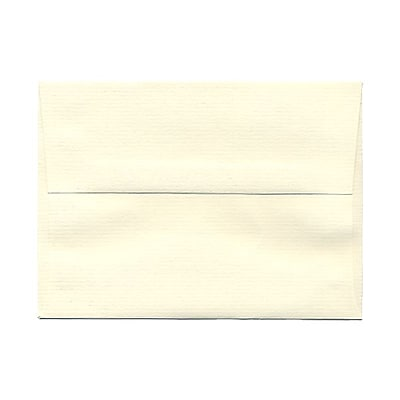 JAM Paper® A6 Invitation Envelopes, 4.75 x 6.5, Strathmore Natural White Laid, 1000/carton (29376B)