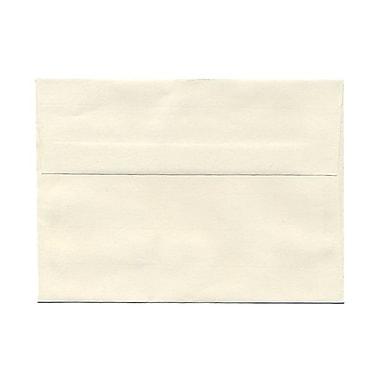 JAM Paper® A7 Invitation Envelopes, 5.25 x 7.25 Strathmore Natural White Laid, 100/Pack (STTL713g)