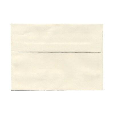 JAM Paper® A7 Invitation Envelopes, 5.25 x 7.25 Strathmore Natural White Laid, 25/pack (STTL713)