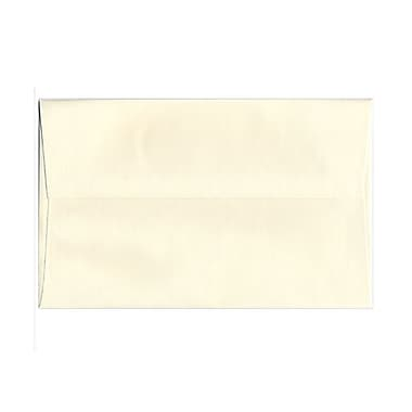 JAM Paper® A10 Invitation Envelopes, 6 x 9.5, Strathmore Natural White Laid, 25/pack (23565)