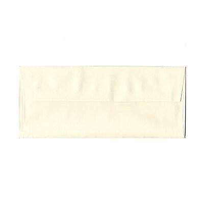 JAM Paper® #10 Business Envelopes, 4 1/8 x 9 1/2, Strathmore Natural White Laid, 25/pack (70746)