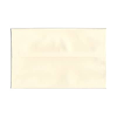JAM Paper® A10 Invitation Envelopes, 6 x 9.5, Strathmore Natural White Linen, 25/pack (900789414)