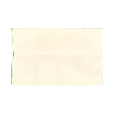 JAM Paper® A10 Invitation Envelopes, 6 x 9.5, Strathmore Natural White Pinstripe, 1000/carton (43445B)