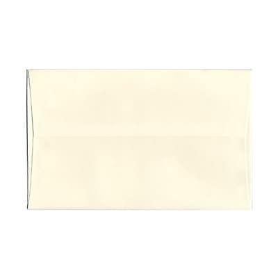 JAM Paper® A10 Invitation Envelopes, 6 x 9.5, Strathmore Natural White Pinstripe, 25/pack (43445)