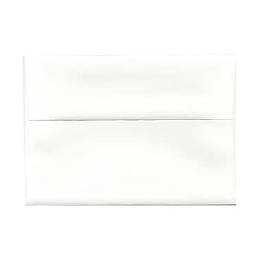 JAM Paper® A7 Invitation Envelopes, 5.25 x 7.25 Strathmore Bright White Wove, 1000/Pack (STTW711B)