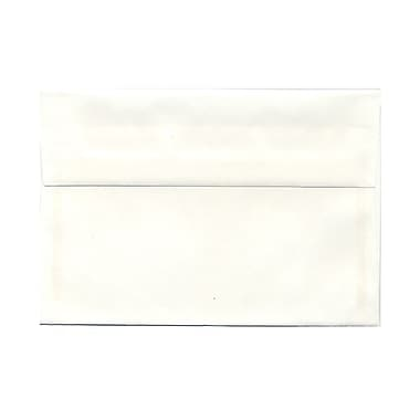 JAM Paper® A8 Invitation Envelopes, 5.5 x 8.125, Strathmore Bright White Wove, 100/Pack (STTW761g)
